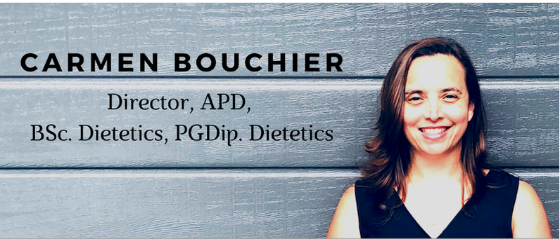 Carmen Boucher, APD, Director of Perfect Balance Nutrition